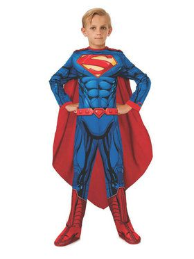 Photo Real Kids Superman Costume