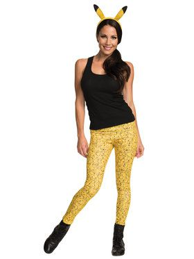Pikachu Leggings and Headband Adult