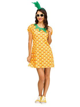 Pineapple Cutie Women's Costume
