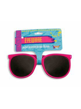 80s Pink Sunglasses Accessory