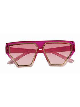 Pink 80'S Glasses