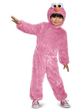 Pink Elmo Comfy Fur Toddler Costume
