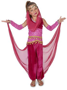 Pink Genie Child Costume