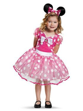 Minnie Mouse Pink Deluxe Tutu Girls Costume