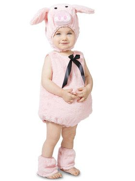 Pink Piglet Infant Costume