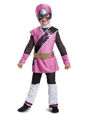 Pink Ranger Ninja Steel Deluxe Child Costume