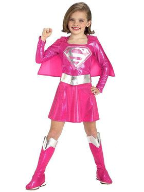Supergirl CostumePink for Child/Toddler