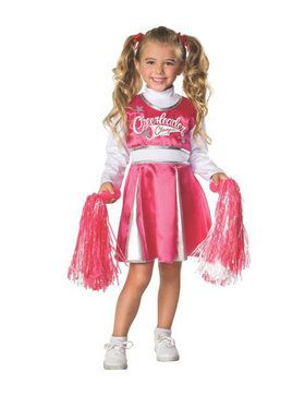 Pink/white Cheerleader Child