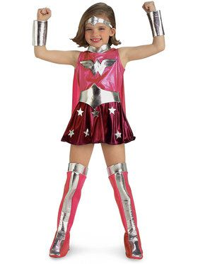 Wonder Woman CostumePink for Girls