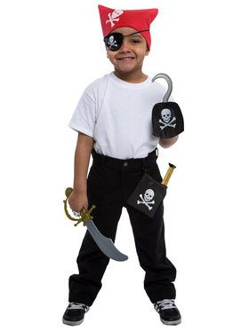 Pirate Dress Up Accessory Set