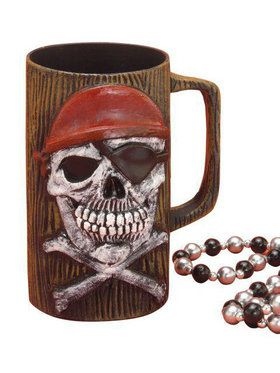 Pirate Beer Mug Costume Accessory
