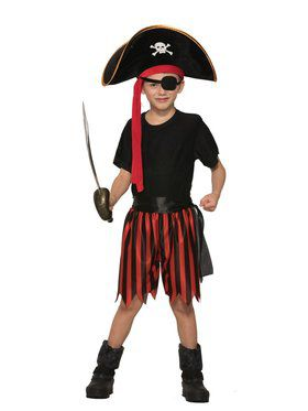 Pirate 4-Piece Dress Up Kit for Kids