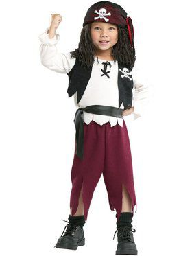 Child Pirate Captain Costume