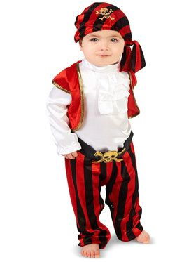 Infant Pirate Captain Costume