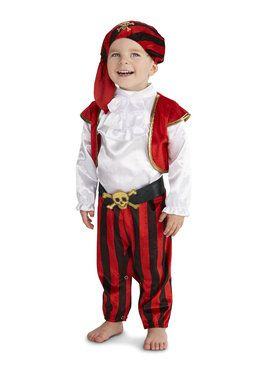 Pirate Captain Toddler Costume
