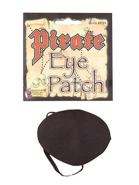 Pirate Eye Black Patch Accessory