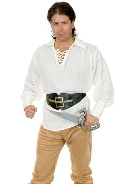 Pirate Gauze Shirt - White