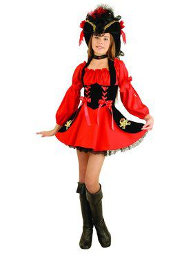 Pirate Girl Boots Adult Costume