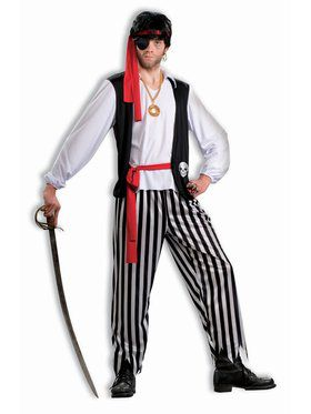 Pirate Matey - Standard Adult Costume