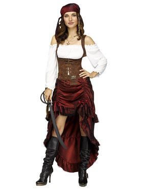 Pirate Maiden Queen - Adult Costume