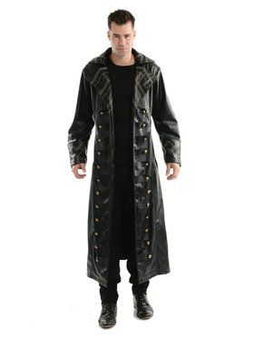 Pirate Trench Coat Adult Costume