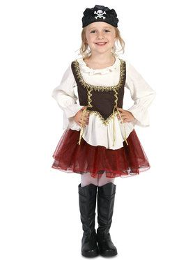 Pirate Tutu Toddler Girl Costume