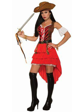Pirate Vixen Adult Costume