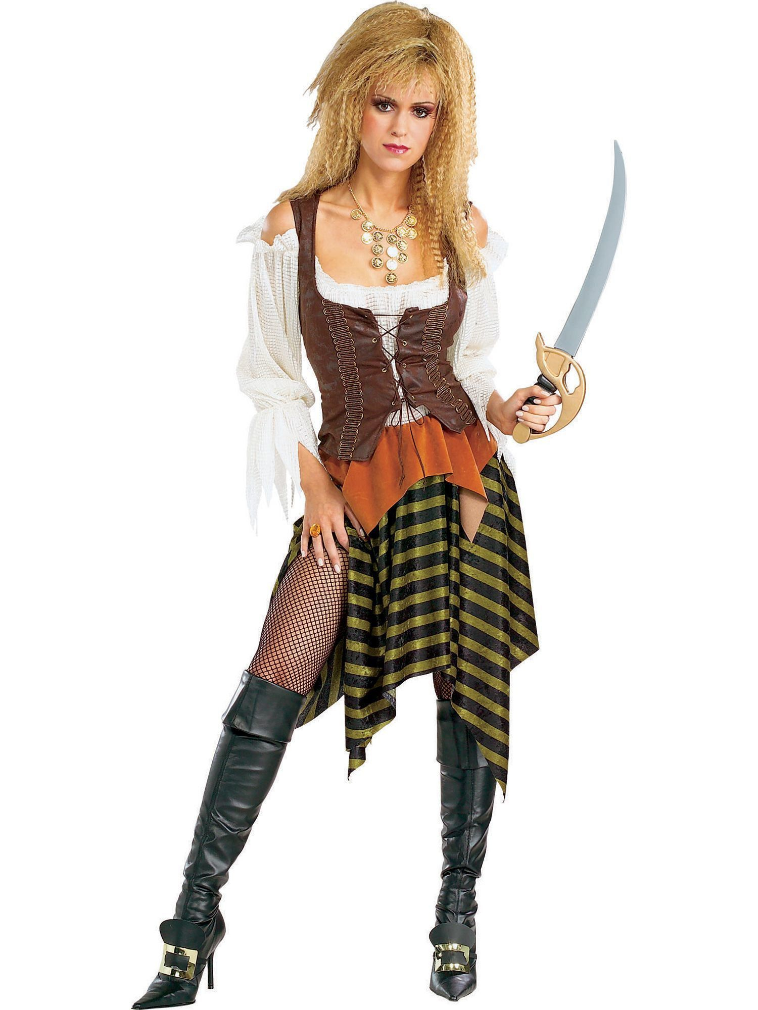 7907695a58d Adult Pirate Wench Costume - Adult 2018 Halloween Costumes ...