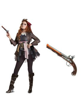 Pirates of the Caribbean Captain Jack Deluxe Female Adult Costume Kit