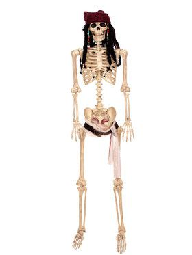 Pirates of the Caribbean - Full Size Jack Sparrow Skeleton