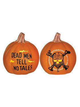Pirates of the Caribbean - Light up Pumpkins