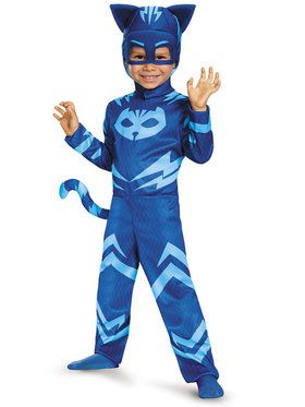 Classic Toddler Catboy PJ 2018 Halloween Masks Costume