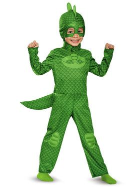 Pj Masks Gekko Classic Toddler Costume  sc 1 st  BuyCostumes.com & All Baby and Toddler Costumes - Baby and Toddler Halloween Costumes ...