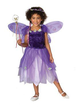 Plum Pixie Child Costume Large