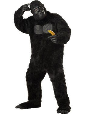 Plus Size Gorilla Costume