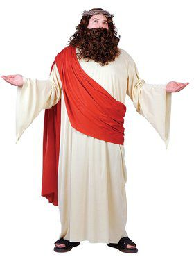 Plus Size Jesus or Joseph Costume