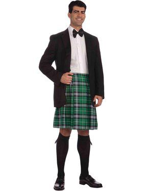 Plus Size Men's Kilt