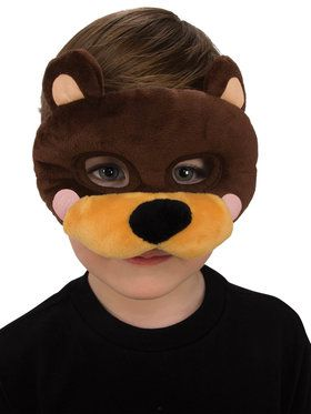 Plush Bear Eye Mask