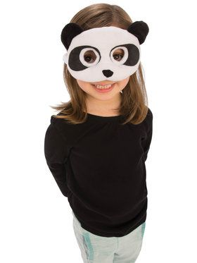 Plush Panda Eye Mask