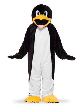 Plush Penguin Mascot - Adult Costume