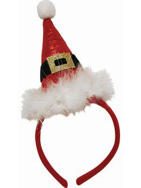 Pointed Santa Hat Headband