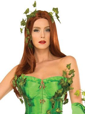 Poison Ivy Deluxe Wig for Adults