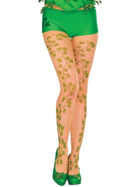 Poison Ivy Pantyhose for Adults