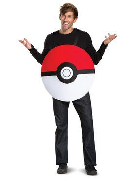 Pokeball Classic Adult Costume