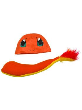 Pokemon Charmander Child Costume Kit