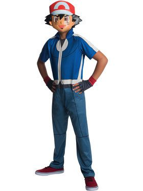 Pokemon Children's Ash Costume