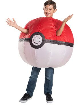 Child's Inflatable Pokmon Poke Ball Costume