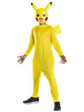 Pikachu Pokmon Costume for Children