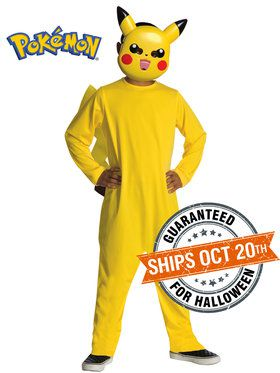 Pokemon Children's Pikachu Costume