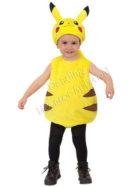 Pokemon Pikachu Bubble Toddler Costume 2T